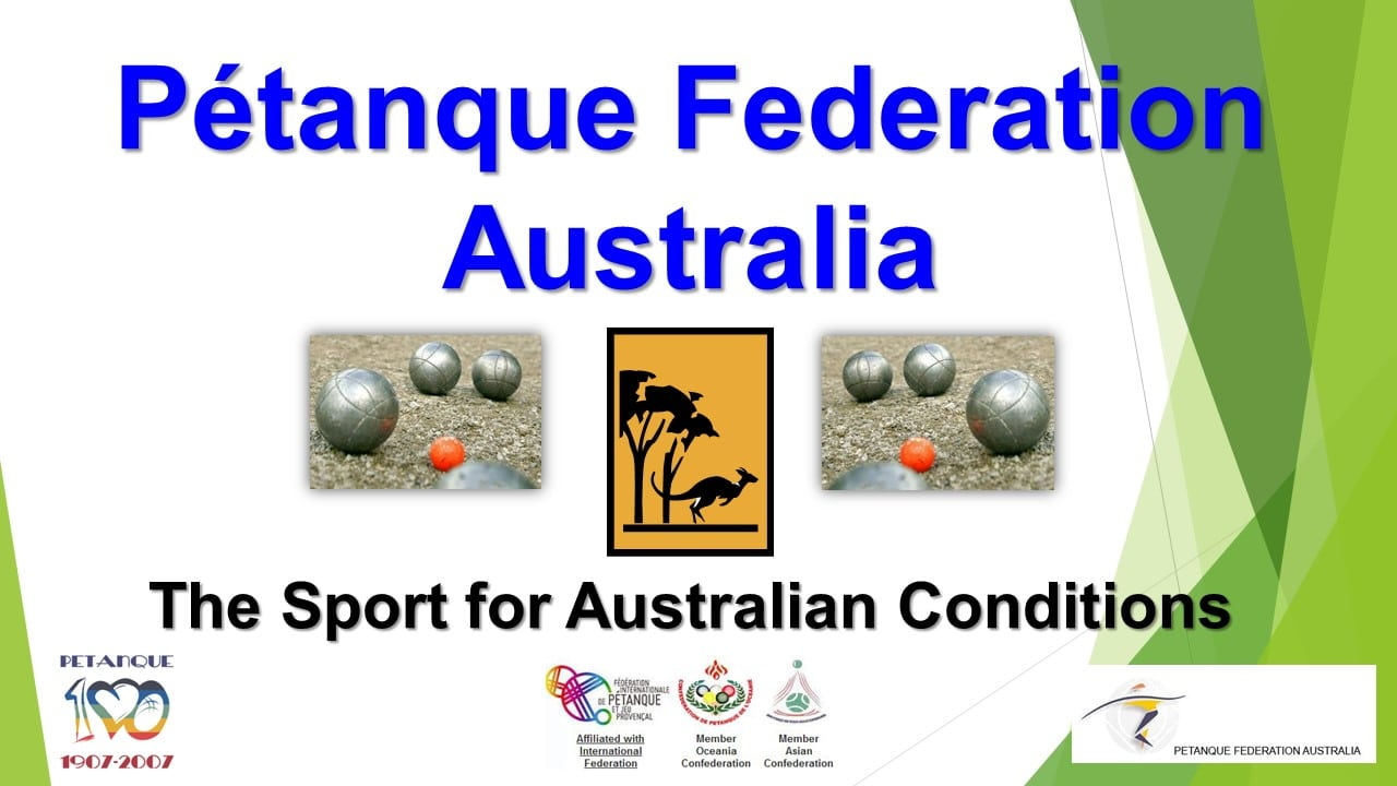 Brisbane Petanque Club Federation Australia
