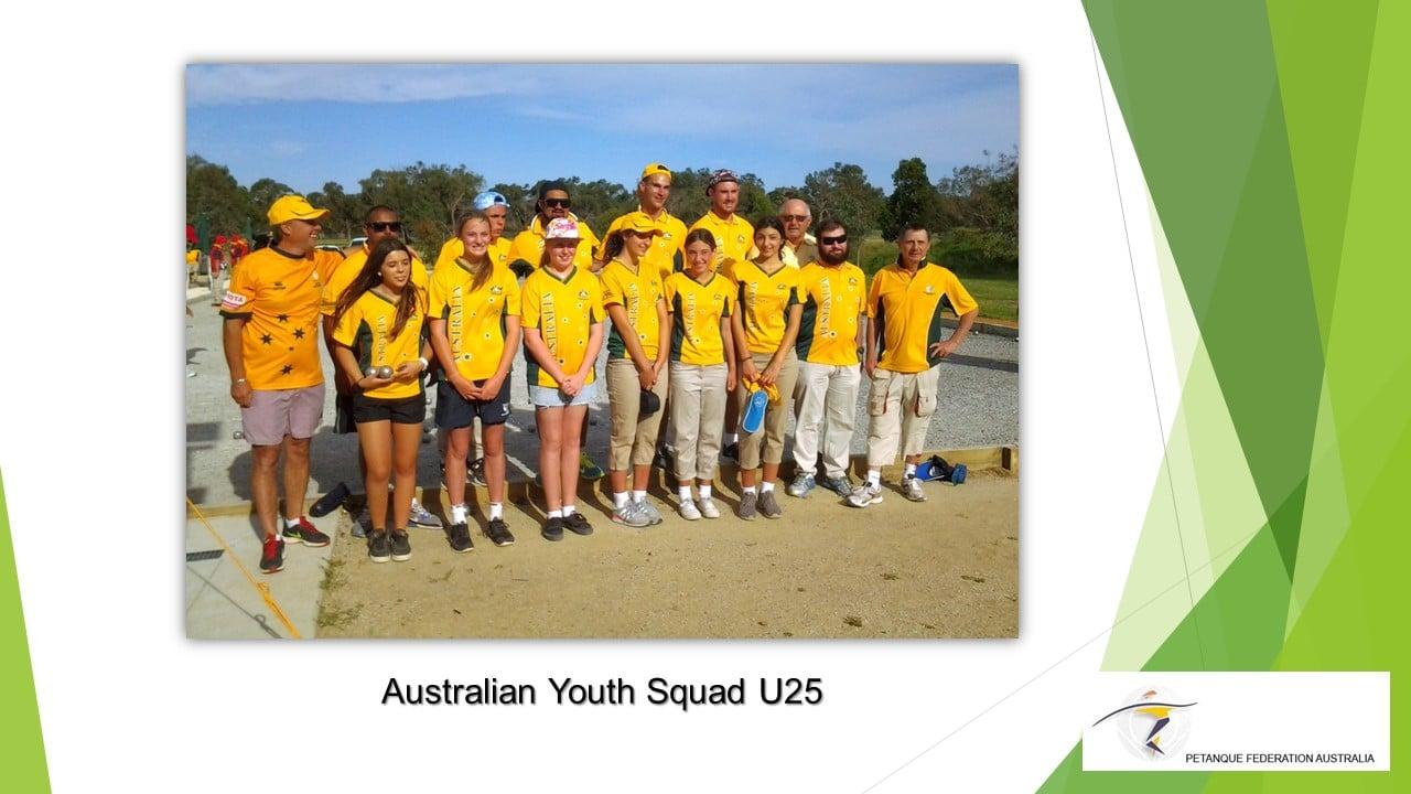 Brisbane Petanque Club Australia Squad U25