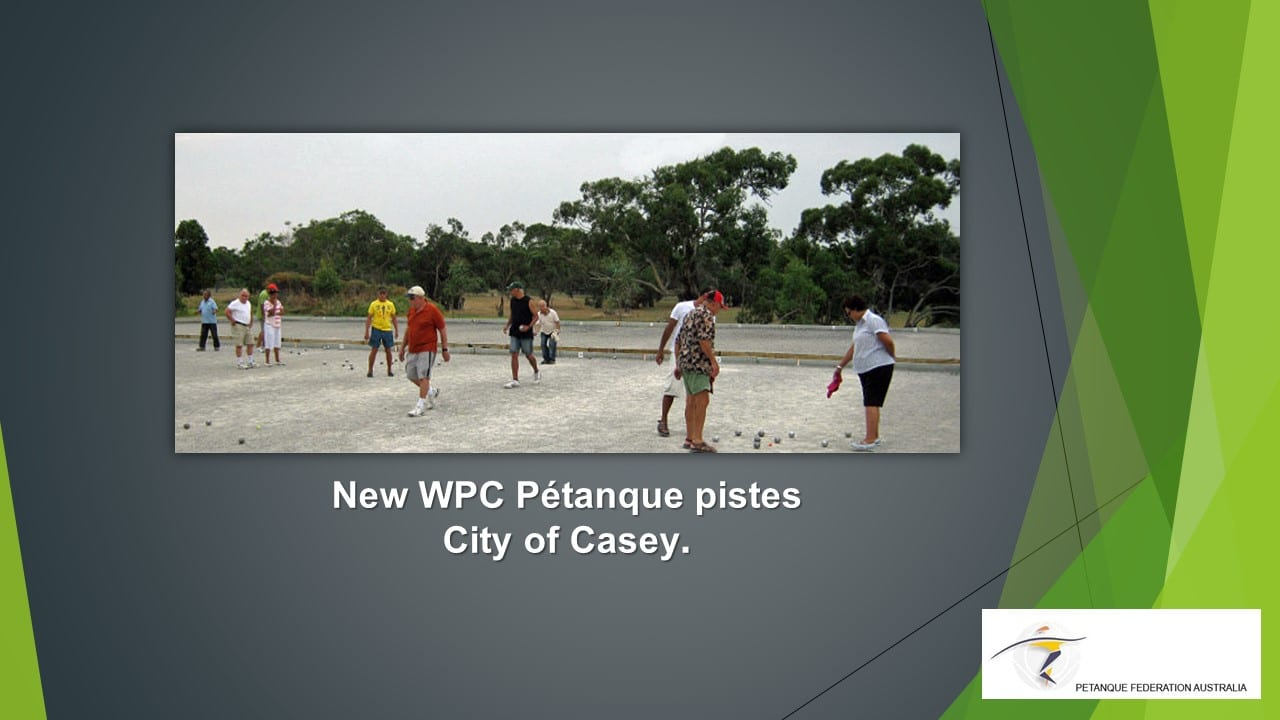 Brisbane Petanque Club City of Casey