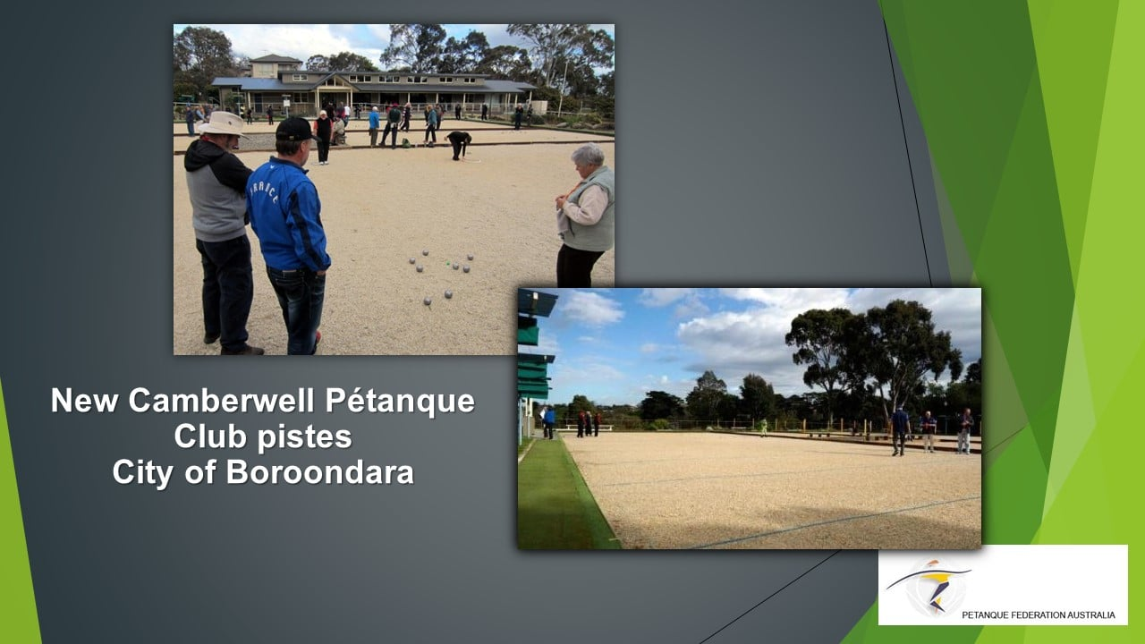 Brisbane Petanque Club City of Boroondara