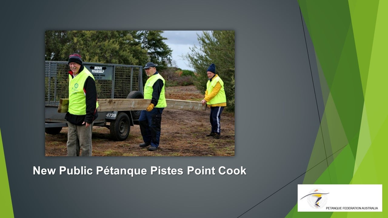 Brisbane Petanque Club Pistes Point Cook