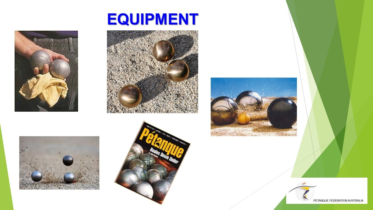 Brisbane Petanque Club Equipment