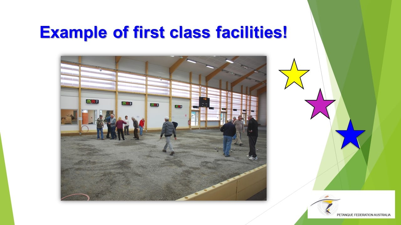 Brisbane Petanque Club Class Facilities