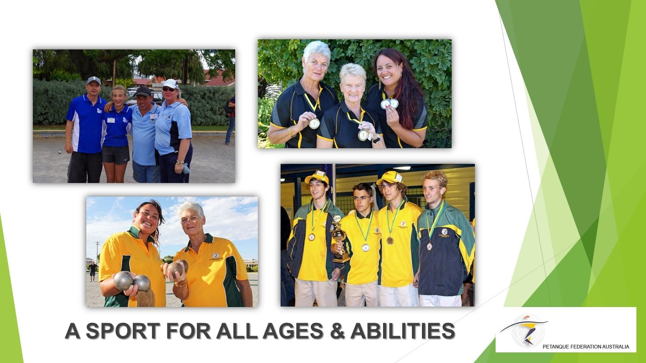 Brisbane Petanque Club Sport for all ages