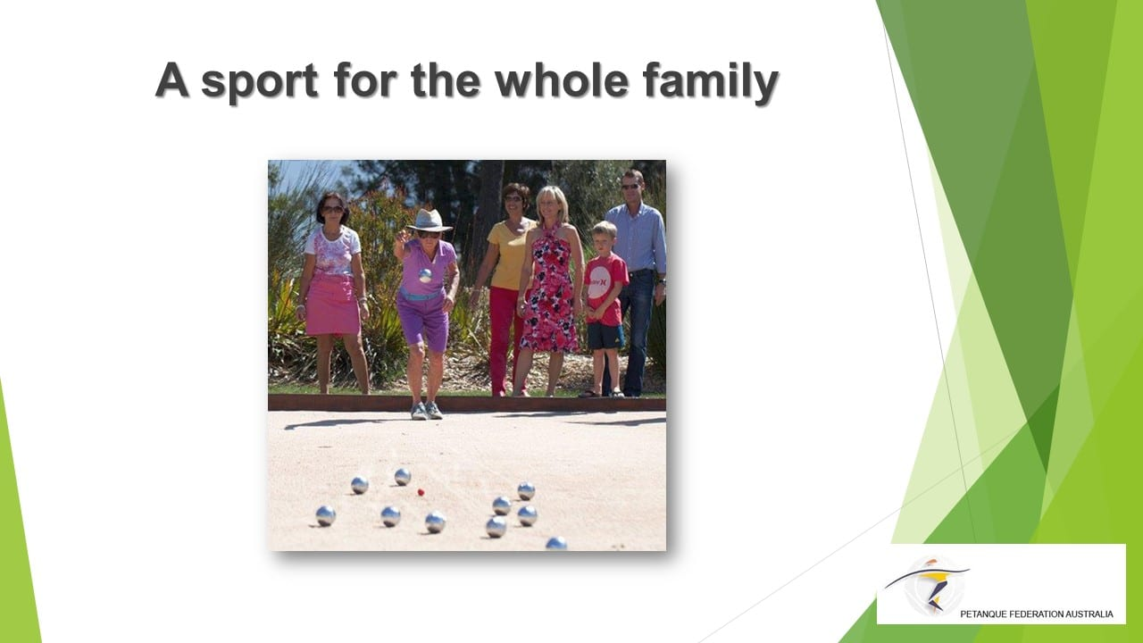 Brisbane Petanque Club Family Sport