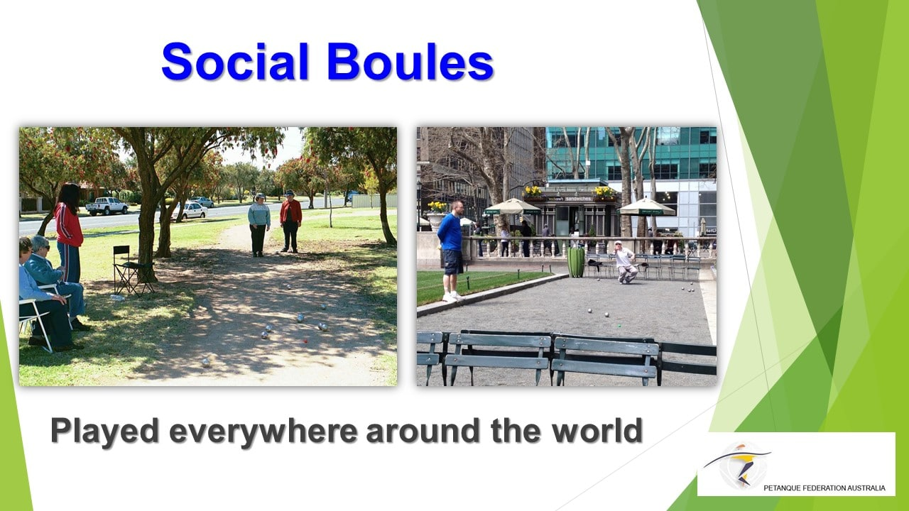 Brisbane Petanque Club Social Boules