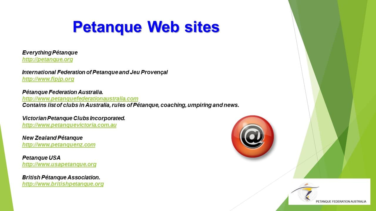 Brisbane Petanque Club Website