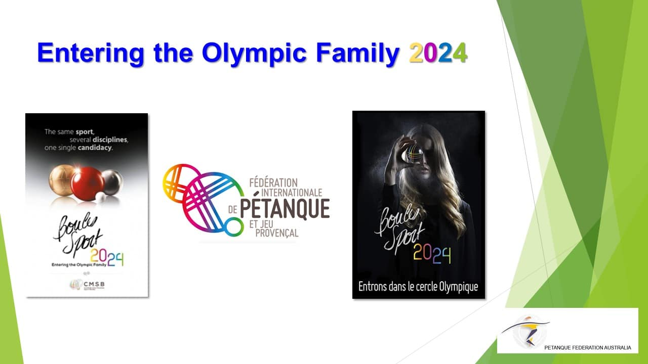 Brisbane Petanque Club Olympic family 2024