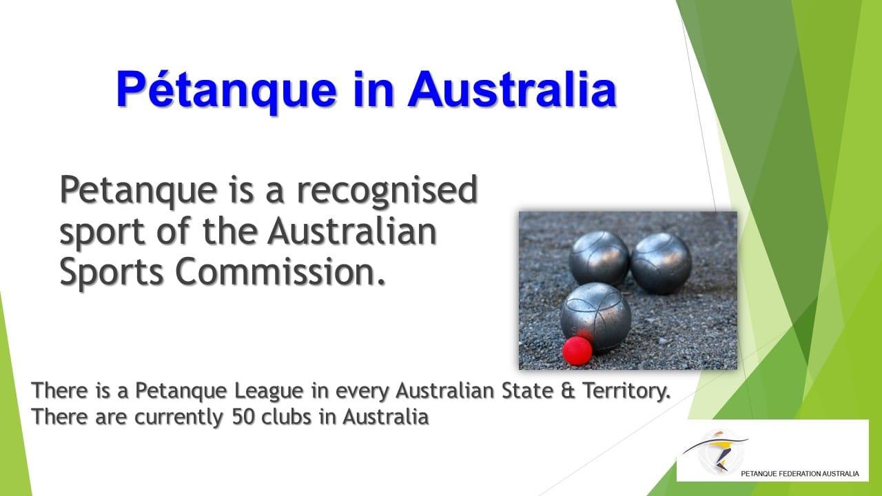 Brisbane Petanque Club Australia